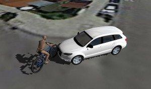 Ricostruzione incidente ciclista