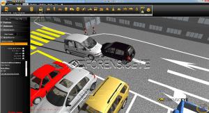 ricostruzione incidenti stradali 3d