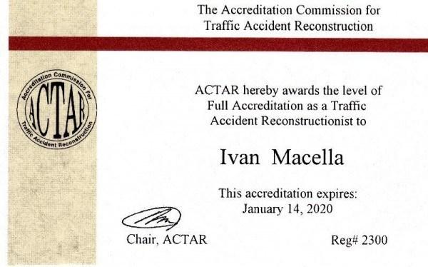 Ivan MAcella ACTAR 2300