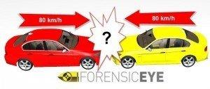 Urto frontale tra due auto
