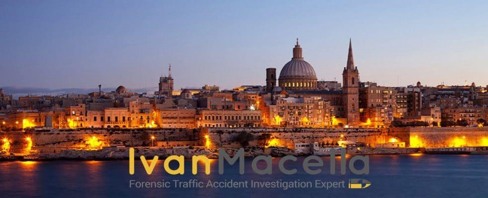 Traffic accident investigation Malta.