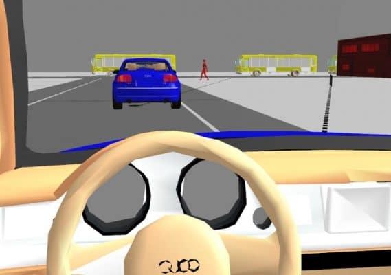 Analisi visibilità alla guida.