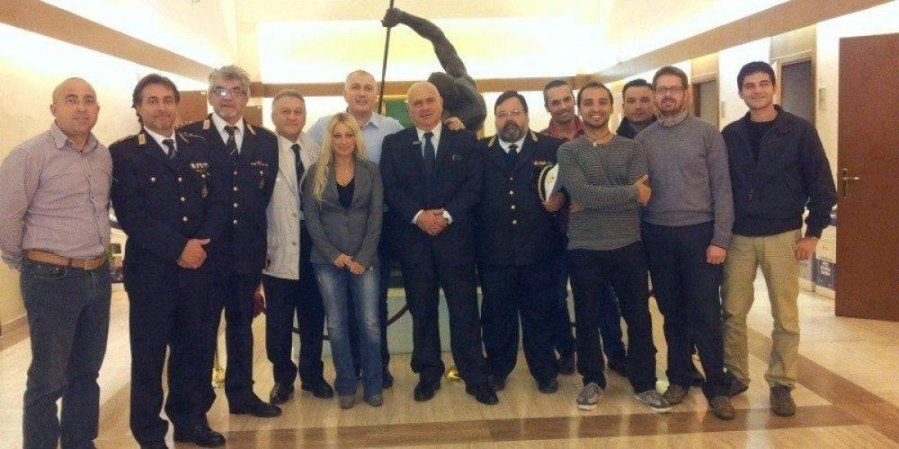 Corso Ivan Macella ricostruzione incidenti Polizia Roma Capitale